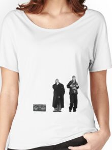 Jay and Silent Bob at the Quick Stop Women's Relaxed Fit T-Shirt