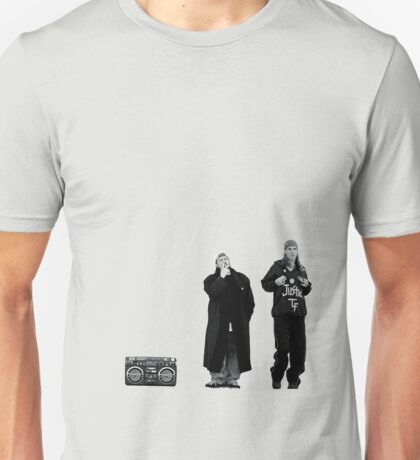 Jay and Silent Bob at the Quick Stop Unisex T-Shirt