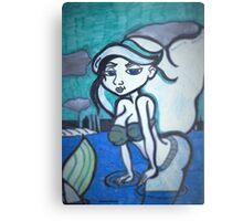 mermaid of the sea Metal Print