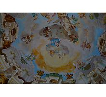 Angels on domed roof Photographic Print