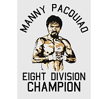 eight division champion Photographic Print