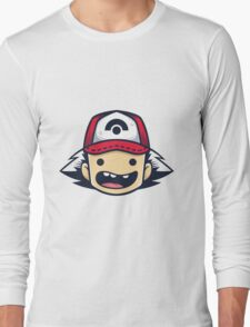 Ash Ketchum Long Sleeve T-Shirt