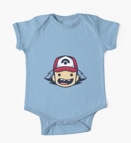 Ash Ketchum One Piece - Short Sleeve