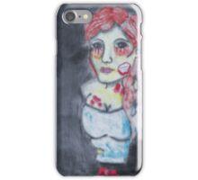 Zombie Girl aka Doreen Gray iPhone Case/Skin