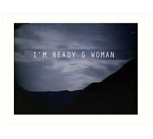 "The X-Files Reboot ""G Woman"" Art Print"