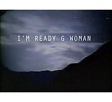 "The X-Files Reboot ""G Woman"" Photographic Print"