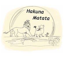 Hakuna Matata by LaurasLovelies