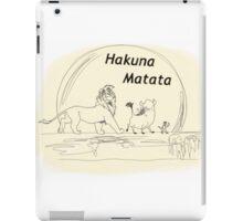 Hakuna Matata iPad Case/Skin