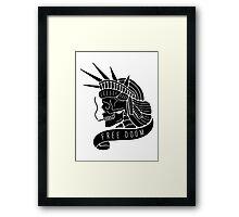 Free Doom Framed Print