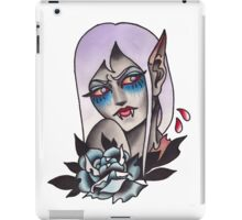 White Walker Fey Vampire  iPad Case/Skin