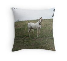 Prissy lady Throw Pillow