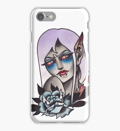 White Walker Fey Vampire  iPhone Case/Skin