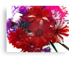Exciting Spring Bouquet of Flowers Canvas Print