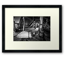 Sack and truck  Framed Print