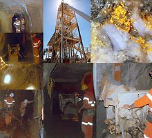 Mining Collage by Clive