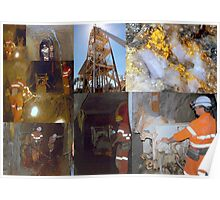Mining Collage Poster