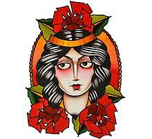 The Tattooed Rose Photographic Print