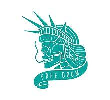Free Doom Photographic Print