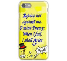 TopHat - Get up, don't give up! iPhone Case/Skin