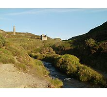Blue Hills Valley - Cornwall Photographic Print