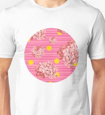 hydrangea spots and stripes T-Shirt