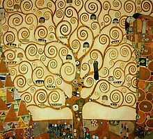 Gustav Klimt The Tree of Life by huggymauve