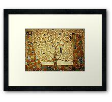 Gustav Klimt The Tree of Life Framed Print