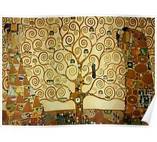 Gustav Klimt The Tree of Life Poster