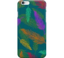 Сolor feathers pattern  iPhone Case/Skin