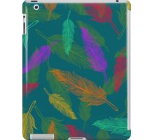 Сolor feathers pattern  iPad Case/Skin
