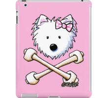 Torrid Diva Westie Crossbones iPad Case/Skin