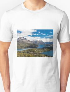Mountains and lake Nahuel Huapi (Patagonia - Argentina) Unisex T-Shirt