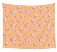 hydrangea polka Wall Tapestry