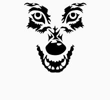 Angry wolf face Unisex T-Shirt