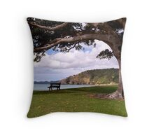 Spend a while under my shady branches........! Throw Pillow