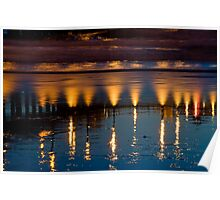 Lighted Reflections Poster