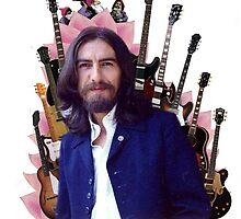 George Harrison (guitars) by Juan María Gómez Cajal