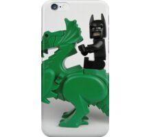 Batman on a Dragon iPhone Case/Skin