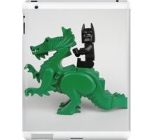 Batman on a Dragon iPad Case/Skin