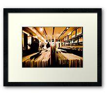 Vinyl Framed Print