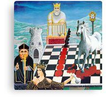 Chessmates  Canvas Print
