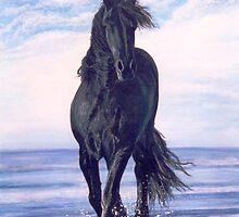 Frisian Stallion 2002 by Joseph Barbara