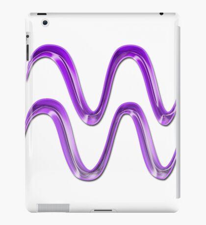 Aquarius Glyph iPad Case/Skin