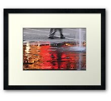 Sea of Flame Framed Print