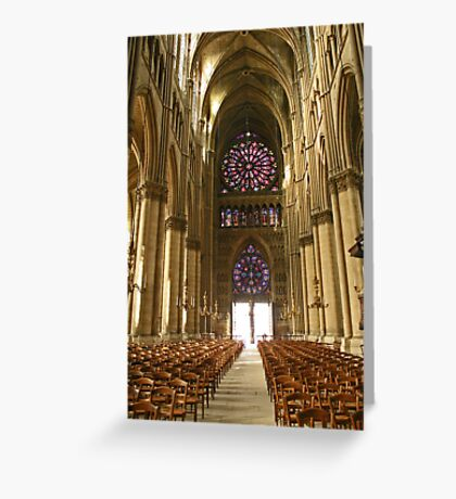The power and the glory Greeting Card