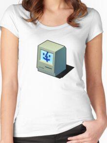 Mac Daddy -  creativebloke.com - t shirt Women's Fitted Scoop T-Shirt