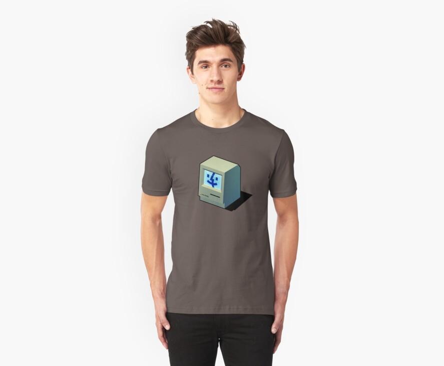 Mac Daddy -  creativebloke.com - t shirt by creativebloke