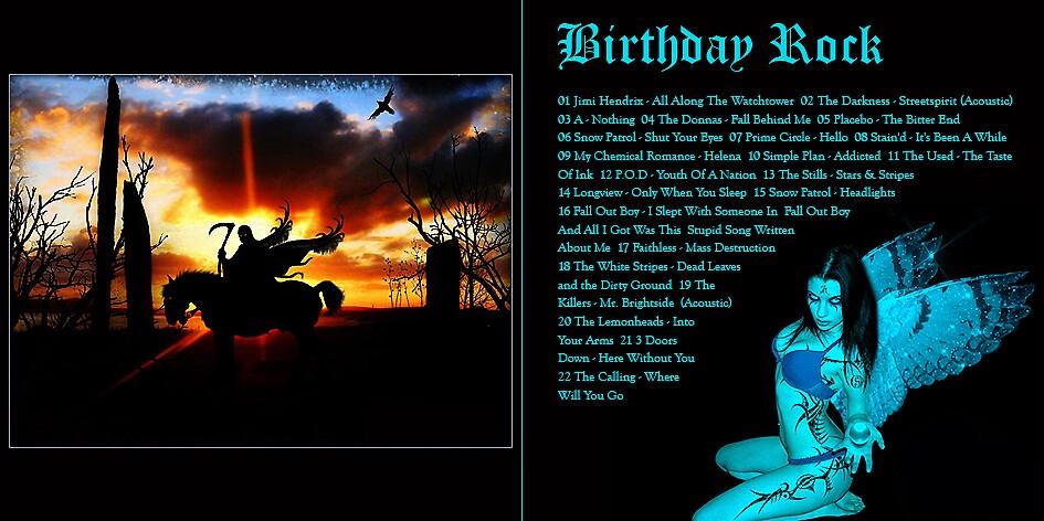 Birthday Rock by DJneen
