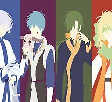 Akatsuki No Yona (Four Dragons) by mainnguyen