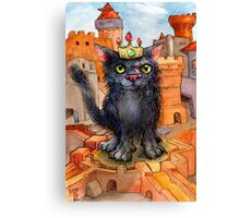Boris the Usurper. Canvas Print